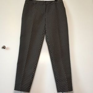 Kate Spade New York Diamond Cigarette Ankle Pants